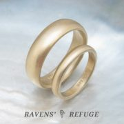 traditional wedding bands – classic wedding rings in 14k gold