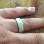 handmade men's wedding band