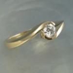 artisan engagement ring
