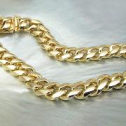 14k chain link bracelet