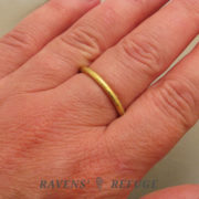 gold stacking ring